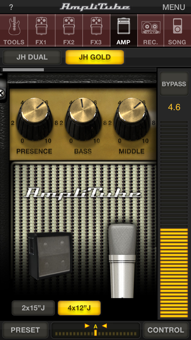 AmpliTube Jimi Hendrix™ screenshot 1