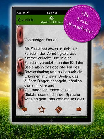 Mystische Schriften des Meister Eckhart - Zeitlose Weisheiten & Predigten screenshot 8