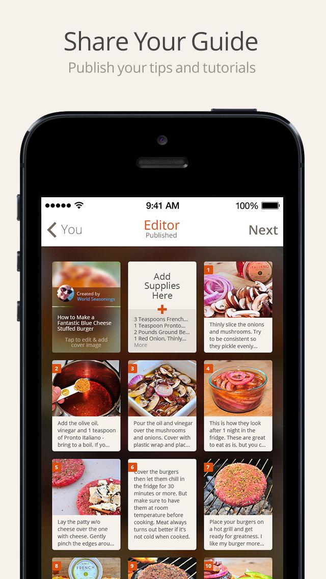 Snapguide - How-tos, Recipes, Fashion, Crafts, iPhone Tips and Lifehacks screenshot 4
