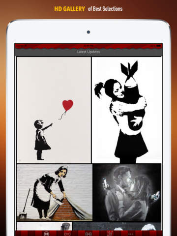 Banksy Artworks HD Wallpaper and His Inspirational Quotes Backgrounds Creator screenshot 6
