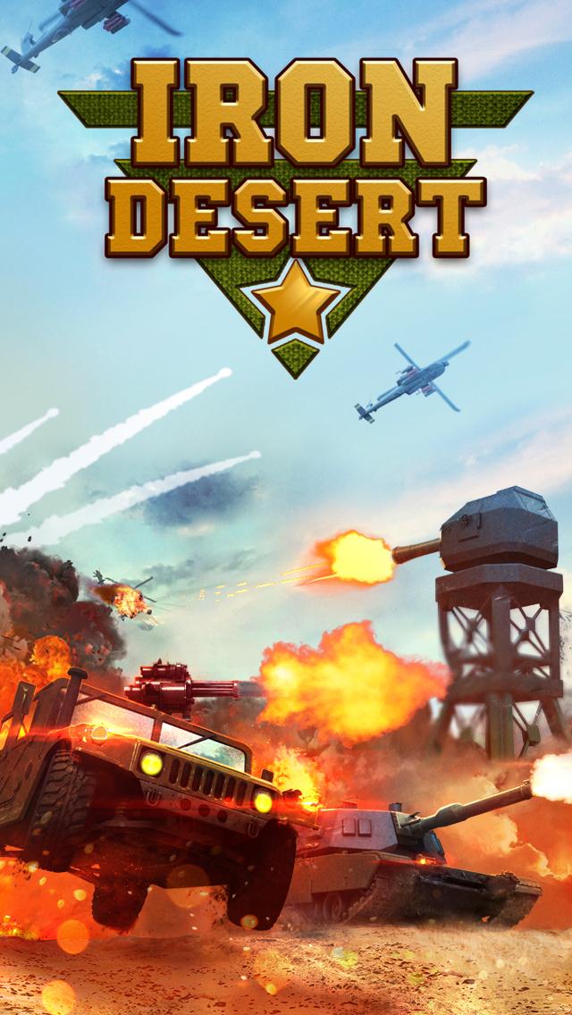 Iron Desert - Fire Storm screenshot #1