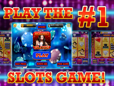 Ace Magic Slots - Jackpot Celebrity Illusion Craft Slot Machine Games HD screenshot 6