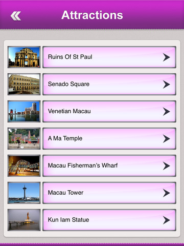 Macau Tourism Guide screenshot 8