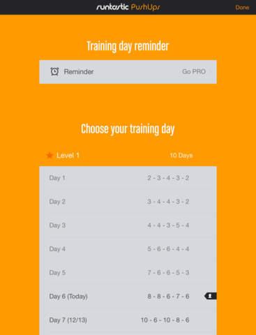 Push-Ups Counter & Trainer screenshot 10