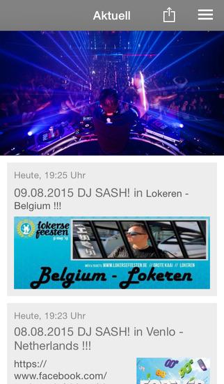 DJ SASH screenshot 1