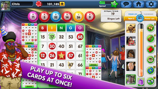 Wild Party Bingo:  Best Social Multiplayer Bingo Game screenshot 3