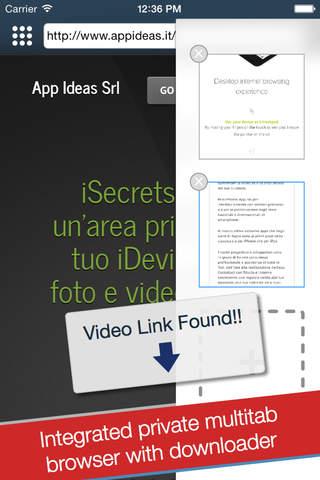 iSecrets Free: Media Vault - náhled