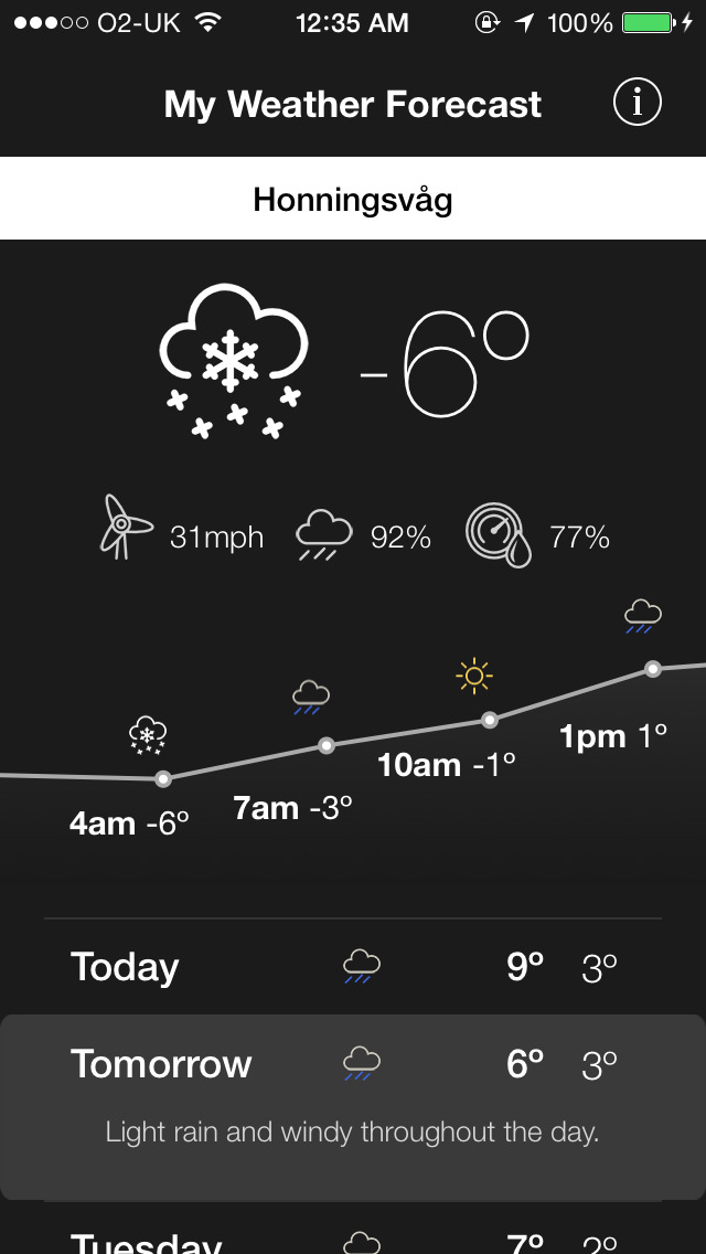 My Weather Forecasts - Conditions, Wind Speed and Reliable Forecasts! screenshot 3