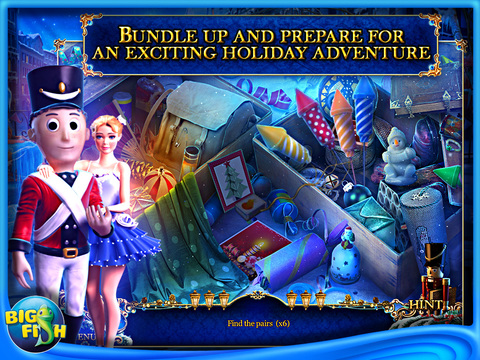 Christmas Stories: Hans Christian Andersen's Tin Soldier HD - The Best Holiday Hidden Objects Adventure Game screenshot 2