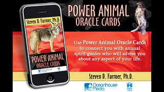 Power Animal Oracle Cards - Steven D. Farmer, Ph.D. screenshot 1