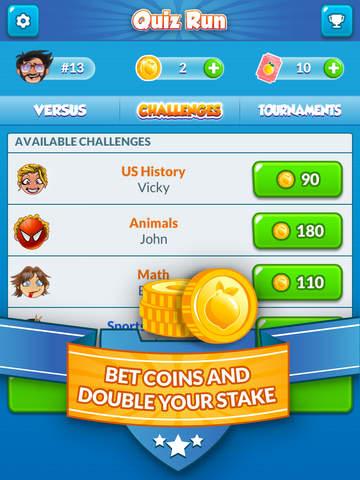 Quiz Run - Challenge your friends! screenshot 9
