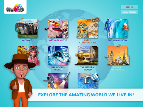 Discover MWorld screenshot 1