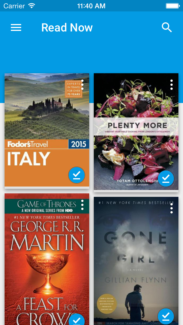 Google Play Books - Books & Comics screenshot #1