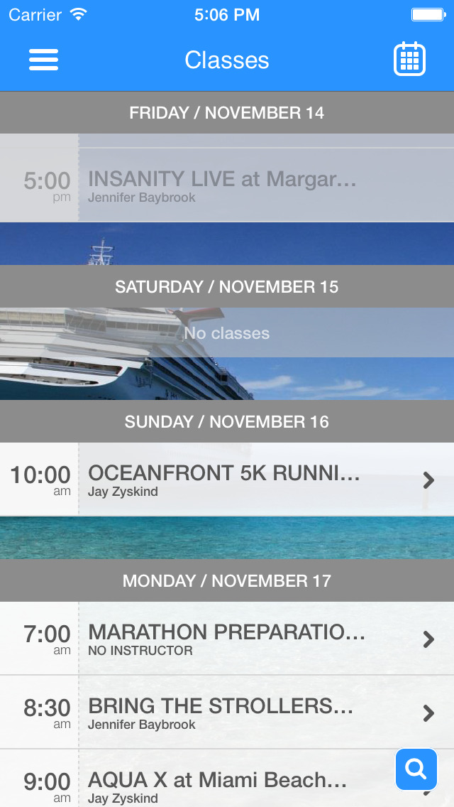 Oceanfront Fitness screenshot #3