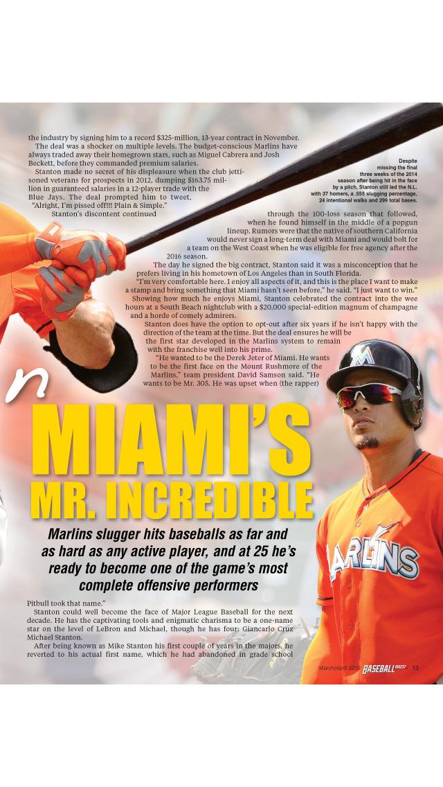 Baseball Digest Magazine screenshot 4