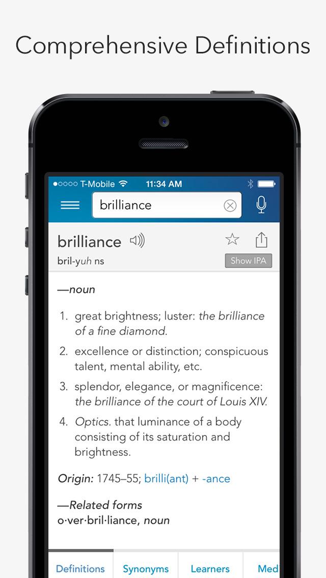Dictionary.com Pro English screenshot 3