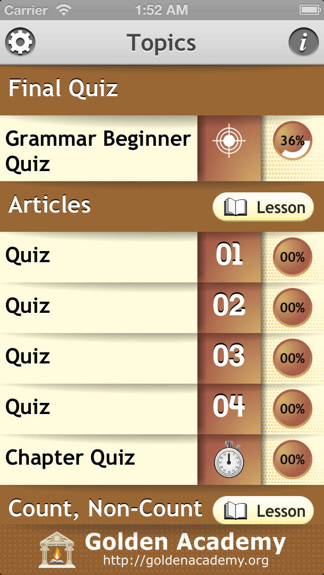 Grammar Expert : English Grammar Beginner screenshot 2
