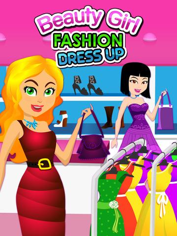 Awesome Beauty Girl Fashion Dress Up Salon Maker Free screenshot 6