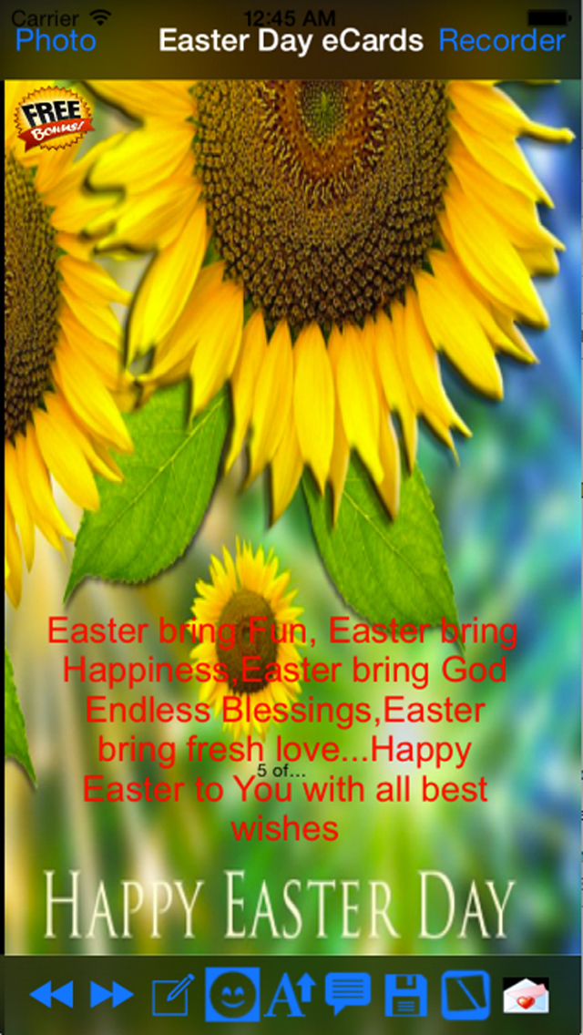 Happy Good Friday and Easter Day e-Cards screenshot 4