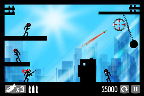Call of Stickman :Trigger Down - náhled
