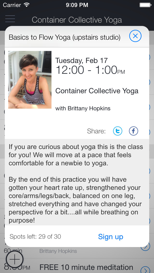 Container Collective Yoga screenshot 2