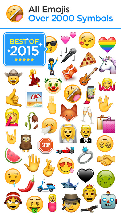 how to get new emojis on iphone emojis new emoji keyboard for iphone free screenshot 20102