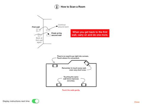 RoomScan Pro – floor plan app screenshot 10