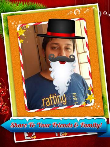 Santa Claus Photo Booth - Festive Merry Christmas Luxury Edition screenshot 9