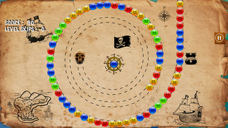 Amazing Pirate Bubble Match Pro - best marble shooting game screenshot 3