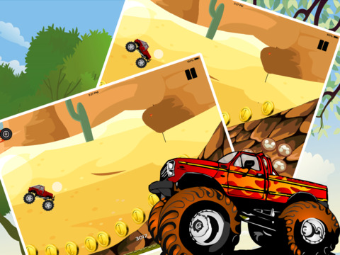Angry Monster Truck Showdown Pro screenshot 8