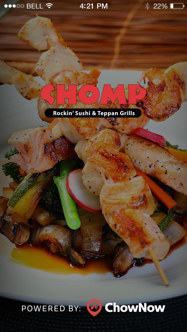 Chomp Sushi screenshot 1