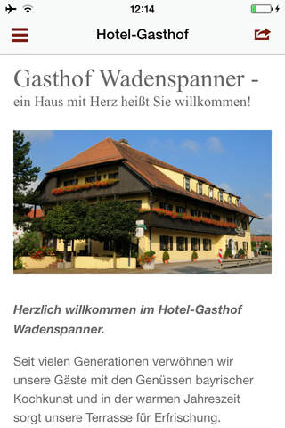 Gastronomie Wadenspanner - náhled
