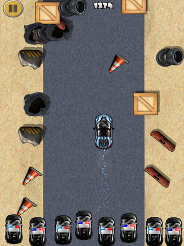 ``Action of Offroad Car Racing: Police Chase Driving Free screenshot 8