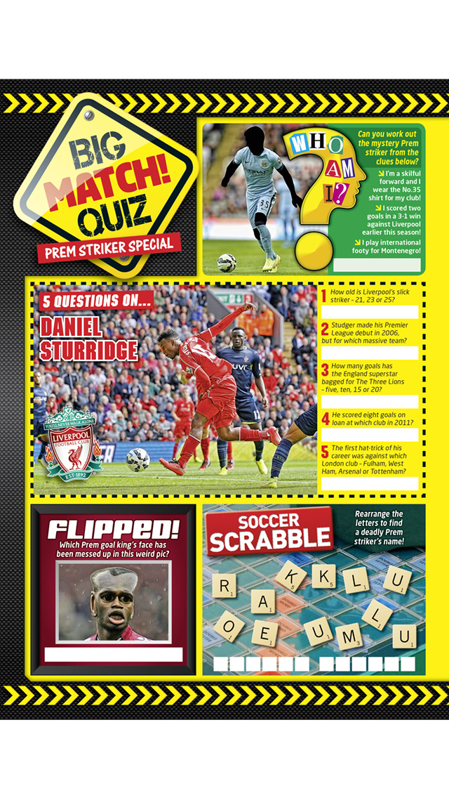 Match! The cool football magazine for young fans screenshot 2