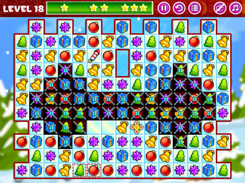 Christmas Sweeper - Relaxing Match-3 Puzzle Game screenshot 7