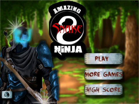 Amazing Snake Ninja - Interesting Bow and Arrow Game screenshot 6