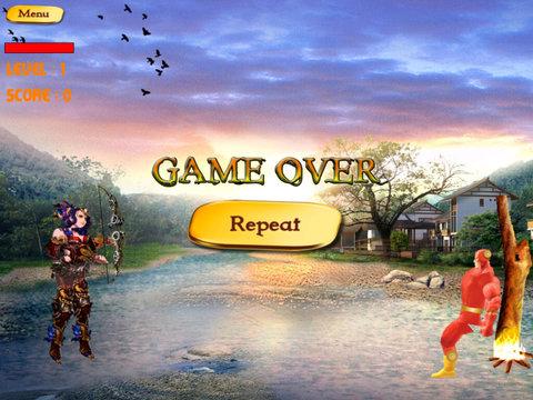 Arrow Ghost Shodown PRO - Magic Heroes Secret Fighters screenshot 9