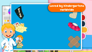 Kids Puzzle Teach me Hospital - Learn how to be a doctor or a nurse screenshot 5