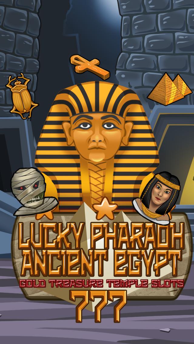 `Lucky Pharaoh Egypt Gold Treasure Temple Casino Slots Free screenshot 4