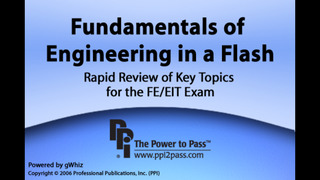 Fundamentals of Engineering in a Flash: Rapid Review of Key Topics for the FE/EIT Exam screenshot 1