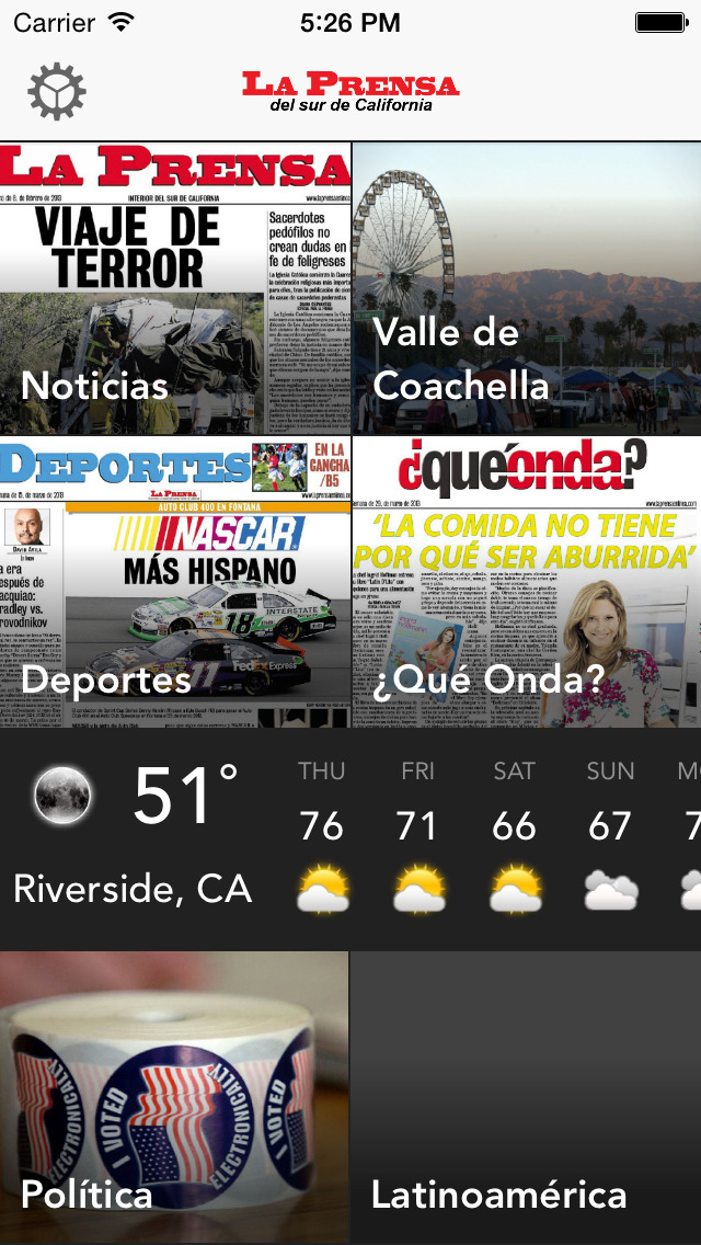 La Prensa del sur de California screenshot 1