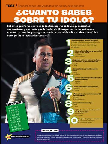 Pop Star (revista) screenshot 9