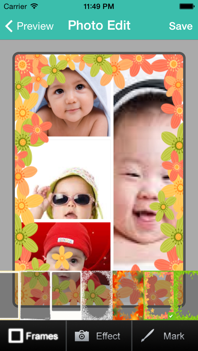 Photo Frame Maker.Picture Collage Maker screenshot 4