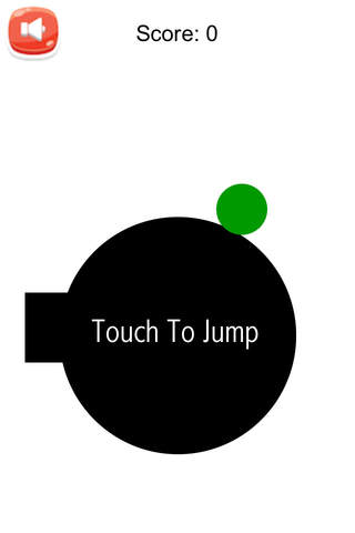 Dot jump - Tap to jump as long as you can - náhled