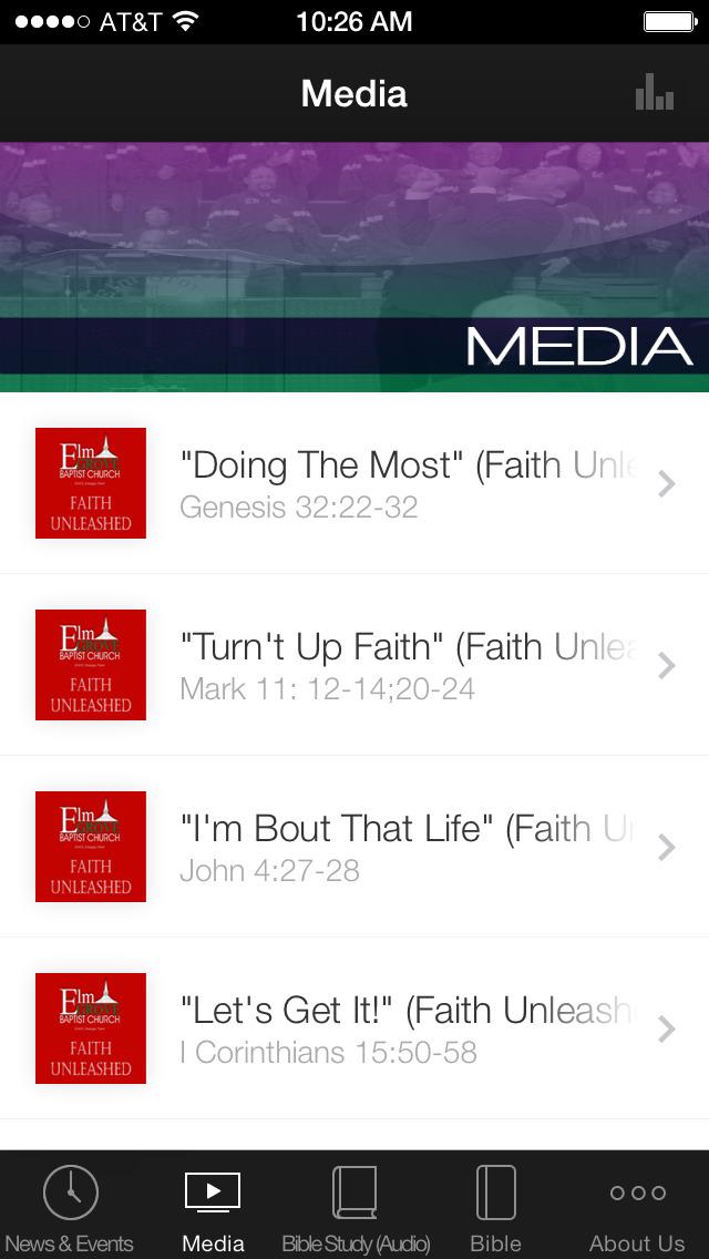Elm Grove Baptist Church screenshot 1