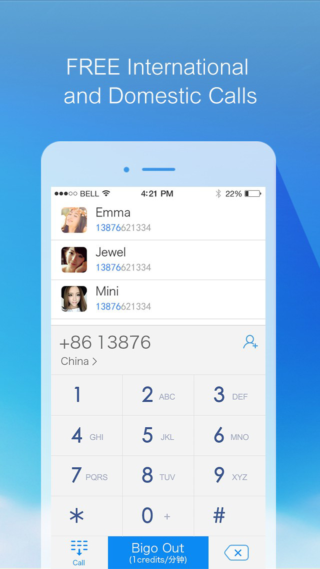 Bigo:Free Phone Call&Messenger screenshot 1