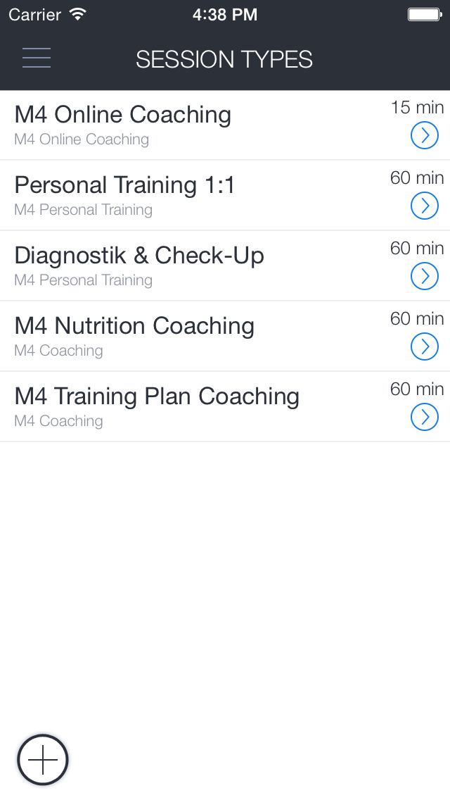 mind4motion Coaching screenshot 2