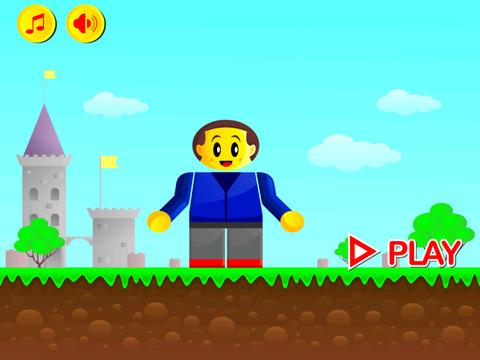 RGB Man Express Run - Red Blue Man Running in Green World screenshot 4