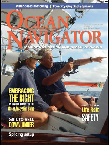Ocean Navigator Magazine screenshot 6