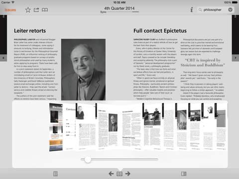 The Philosophers' Magazine screenshot 10